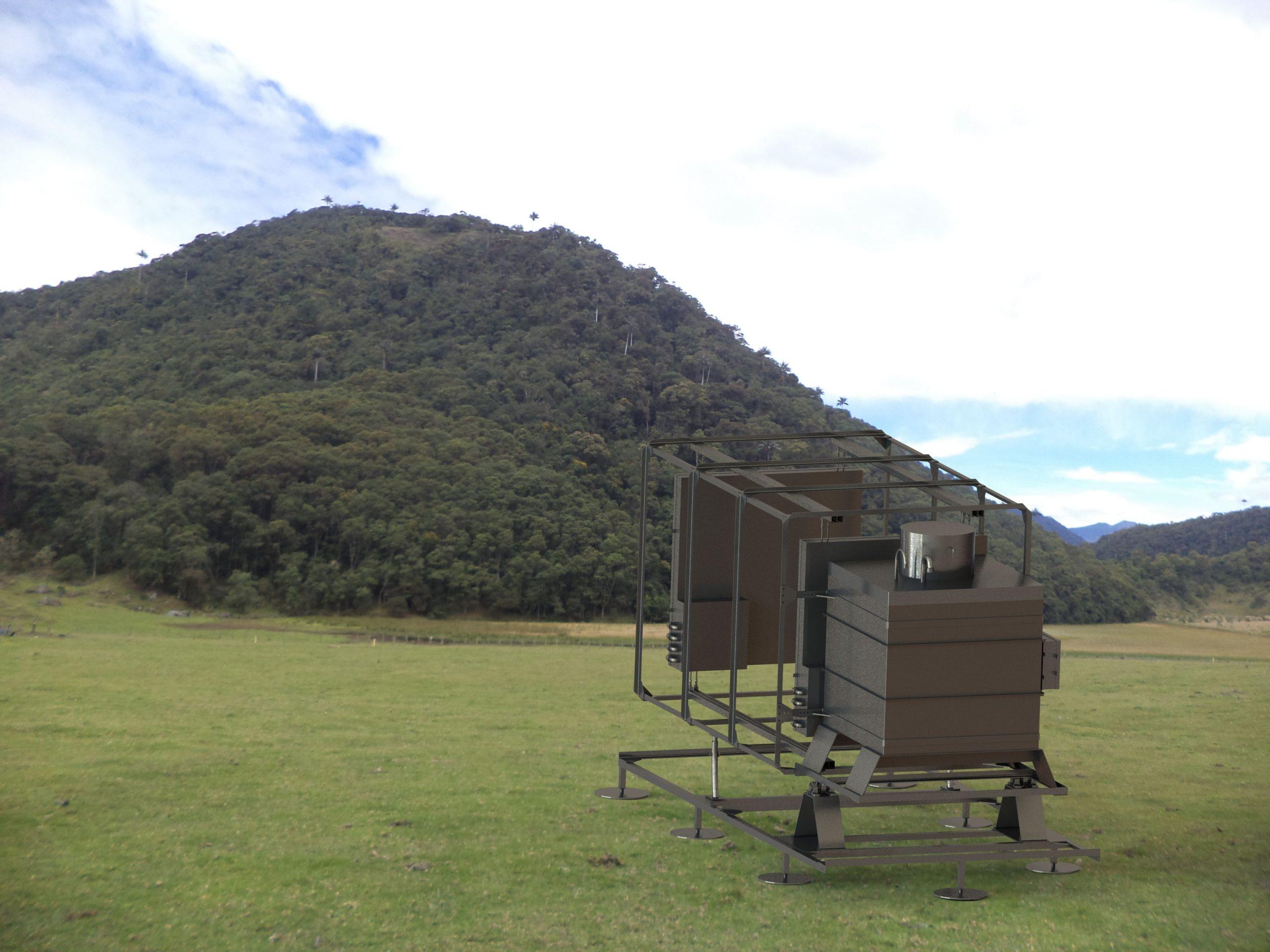 Muon Telescope at Cerro Machin