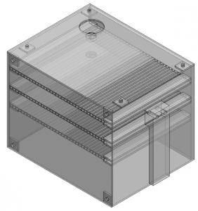 Figura 10. Estructura plástica de la estación meteorológica.