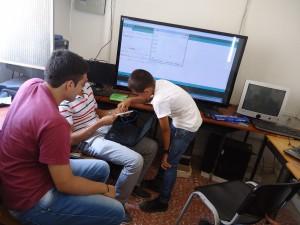 Sesión de sensores usados en la estación de monitoreo. Colegio CER-Bosconia.