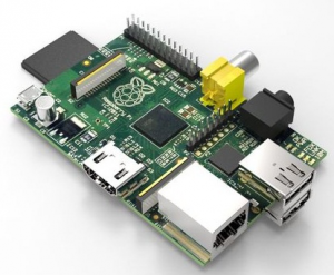 Figura 4. Raspberry pi.