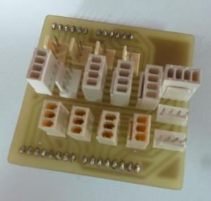 Figura 6. Tarjeta para la conexión de los sensores.
