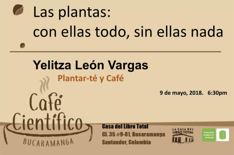 Café Científico: Las Plantas