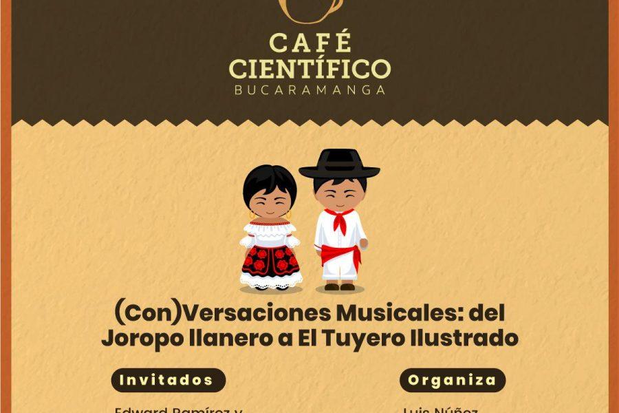 (Con)Versaciones Musicales #CaféCientífico