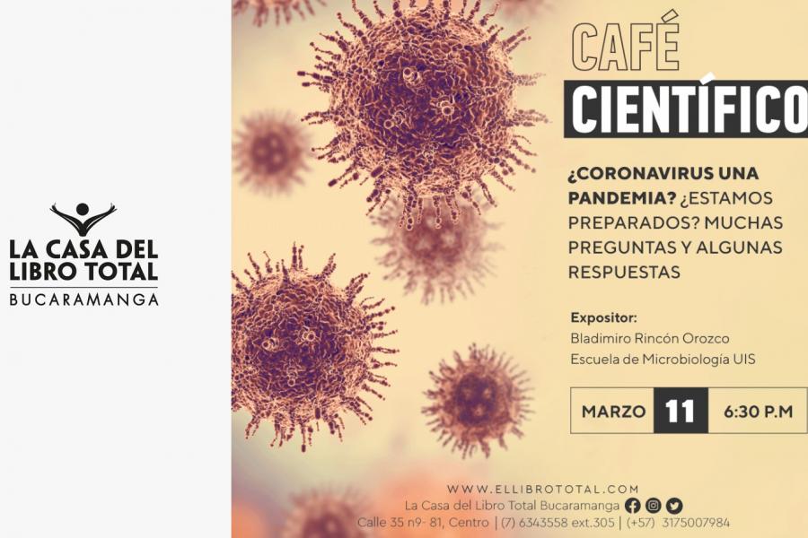 Coronavirus #CaféCientífico